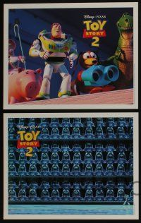 4k018 TOY STORY 2 11 LCs '99 Woody & Buzz Lightyear in Disney/Pixar animated sequel!