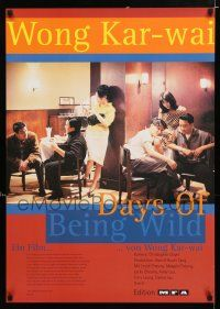 4p074 DAYS OF BEING WILD German '91 Kar Wai Wong's A Fei zheng chuan, Leslie Cheung, Andy Lau!