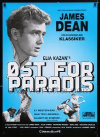 4p075 EAST OF EDEN Danish R01 different images of James Dean, Julie Harris, John Steinbeck!