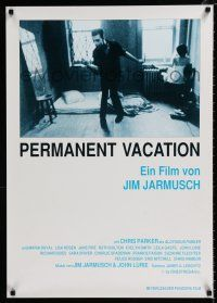 4p078 PERMANENT VACATION German '80 cool image of John Lurie, directed by Jim Jarmusch!