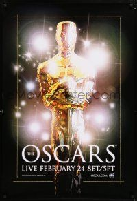 4r013 80TH ANNUAL ACADEMY AWARDS DS 1sh '07 cool stylized art of the Oscar statute and lights!