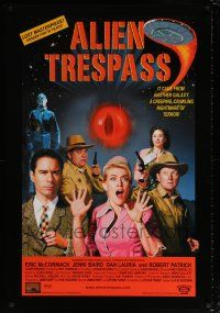 4r033 ALIEN TRESPASS DS 1sh '09 creeping, crawling nightmare of terror, can mankind be saved!