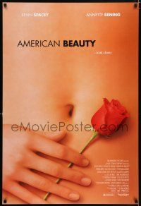4r042 AMERICAN BEAUTY DS 1sh '99 Sam Mendes Academy Award winner, sexy close up image!