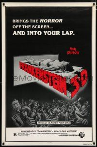 4r048 ANDY WARHOL'S FRANKENSTEIN 1sh R80s Joe Dallessandro, directed by Paul Morrissey!