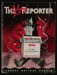 4s062 HOLLYWOOD REPORTER exhibitor magazine Jan 2, 1945 special 100-page New Year issue, Kapralik!