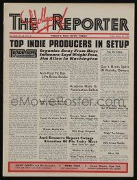 4s061 HOLLYWOOD REPORTER exhibitor magazine Jan 23, 1942 w/4-page insert for Babes on Broadway!