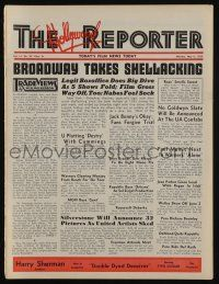 4s055 HOLLYWOOD REPORTER exhibitor magazine May 8, 1939 w/16-page insert about MGM 15th birthday!