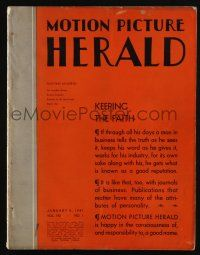4s042 MOTION PICTURE HERALD exhibitor magazine January 4, 1941 Night Train, Flight from Destiny!