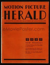 4s039 MOTION PICTURE HERALD exhibitor magazine Mar 28, 1931 Bosko, Charlie Chaplin's City Lights!