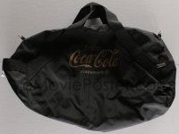 4s069 COCA-COLA 14x23 duffel bag '00s carry around all your stuff in style, logo on the side!