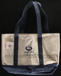 4s078 GRAMERCY PICTURES blue 12x17 tote bag '90s you can carry all your stuff around in it!