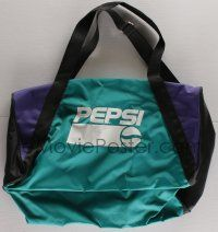4s072 PEPSI green 16x23 duffel bag '00s carry around all your stuff in style, logo on the side!