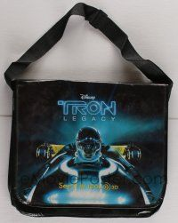 4s075 TRON LEGACY 14x16 messenger bag '10 great different close up image of light cycle!
