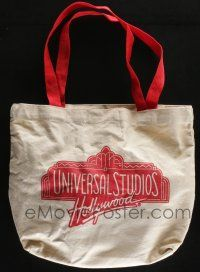 4s077 WATERWORLD 11x12 tote bag, hat & bags of dirt '95 you can carry all your stuff in it!
