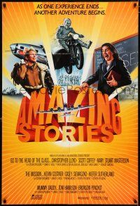 4t029 AMAZING STORIES int'l 1sh '87 Steven Spielberg science fiction fantasy series!