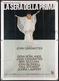 4y050 OPENING NIGHT Italian 2p '78 directed by John Cassavetes, full-length Gena Rowlands!