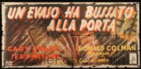 4y028 TALK OF THE TOWN Italian 39x81 '40s directed by George Stevens, completely different art!