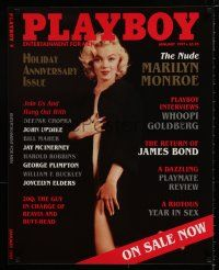 4z009 PLAYBOY 24x30 advertising poster '97 great image of super-sexy Marilyn Monroe!