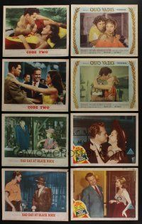 5a031 LOT OF 69 1950s MGM LOBBY CARDS '50s great scenes from a variety of different movies!