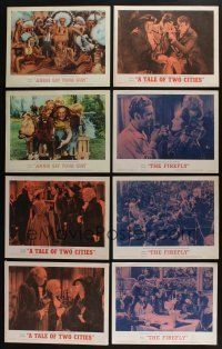 5a033 LOT OF 36 MGM 1962 RE-RELEASE LOBBY CARDS R62 great scenes from a variety of movies!