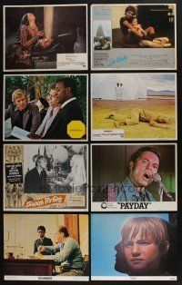 5a038 LOT OF 140 LOBBY CARDS '68 - '82 complete & incomplete sets from a variety of movies!