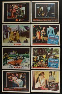 5a039 LOT OF 131 1940S-60S LOBBY CARDS '40s-60s great images from a variety of different movies!