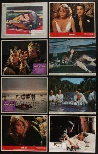 5a041 LOT OF 101 1960S-80S LOBBY CARDS '60s-80s great scenes from a variety of different movies!