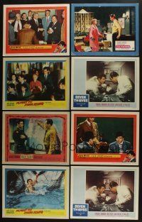 5a046 LOT OF 80 1950s LOBBY CARDS '50s great scenes from a variety of different movies!