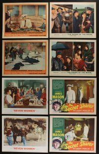 5a047 LOT OF 80 1940s-60s LOBBY CARDS '40s-60s great images from a variety of different movies!
