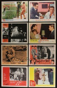 5a048 LOT OF 59 1960s LOBBY CARDS '60s great scenes from a variety of different movies!