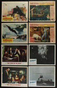 5a051 LOT OF 54 1950s LOBBY CARDS '50s great scenes from a variety of different movies!