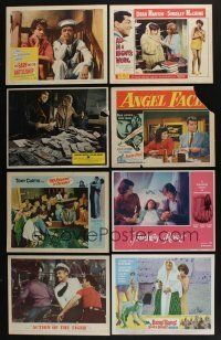 5a052 LOT OF 51 1950s-70s LOBBY CARDS '50s-70s great scenes from a variety of different movies!