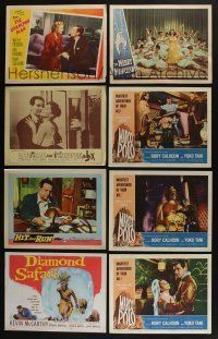 5a056 LOT OF 50 1940s-60s LOBBY CARDS '40s-60s great scenes from a variety of different movies!