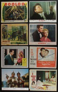 5a057 LOT OF 50 1930s-80s LOBBY CARDS '30s-80s great scenes from a variety of different movies!