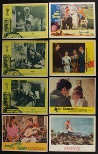 5a059 LOT OF 45 1950s-70s LOBBY CARDS '50s-70s great scenes from a variety of different movies!