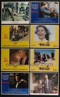 5a066 LOT OF 23 1970s LOBBY CARDS '70s great scenes from a variety of different movies!