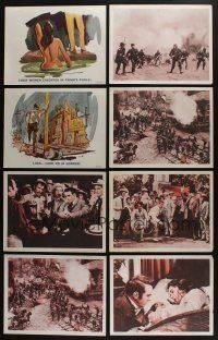5a069 LOT OF 11 LOBBY CARDS '50s-60s Executioners, Raintree County, Greatest Story Ever Told