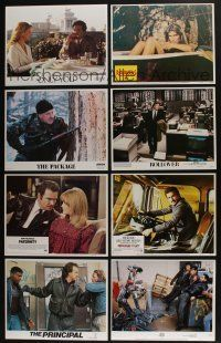 5a071 LOT OF 36 SETS OF 8 LOBBY CARDS '70s-90s complete sets from a variety of movies!