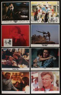 5a072 LOT OF 34 SETS OF 8 LOBBY CARDS '70s-90s complete sets from a variety of movies!