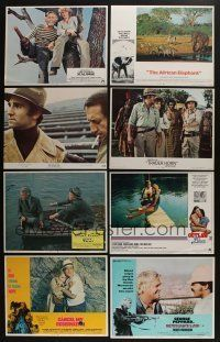 5a073 LOT OF 27 1970S SETS OF 8 LOBBY CARDS '70s complete sets from a variety of movies!