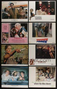5a074 LOT OF 25 1970S SETS OF 8 LOBBY CARDS '70s complete sets from a variety of movies!