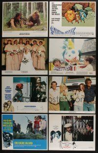 5a078 LOT OF 16 1970S SETS OF 8 LOBBY CARDS '70s complete sets from a variety of movies!