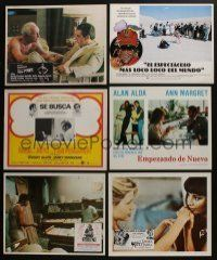 5a080 LOT OF 9 MEXICAN AND SPANISH/U.S. LOBBY CARDS '60s-70s great scenes from a variety of movies!