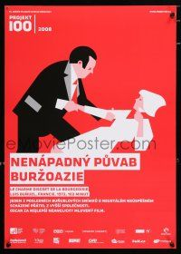 5b009 DISCREET CHARM OF THE BOURGEOISIE Czech 17x24 R08 Projekt 100, cool different Fujak artwork!
