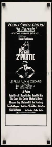 5b032 GODFATHER PART II French Swiss '74 Al Pacino in Francis Ford Coppola classic crime sequel!