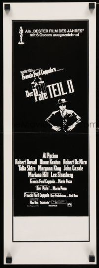 5b033 GODFATHER PART II German Swiss '74 Al Pacino in Francis Ford Coppola classic crime sequel!