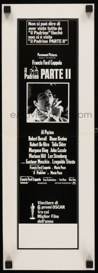 5b034 GODFATHER PART II Italian Swiss '74 Al Pacino in Francis Ford Coppola classic crime sequel!