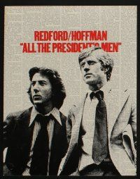 5g015 ALL THE PRESIDENT'S MEN 9 color 11x14 stills '76 Pakula Watergate classic, Robert Redford