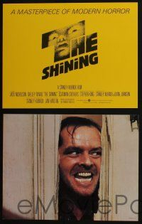 5g004 SHINING 13 color 11x14 stills '80 Stephen King & Stanley Kubrick masterpiece of modern horror