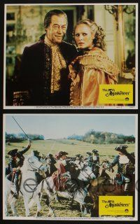 5g030 5th MUSKETEER 8 LCs '79 Sylvia Kristel, Lloyd Bridges, Ursula Andress, swashbuckling!